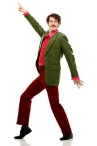 1970s disco man
