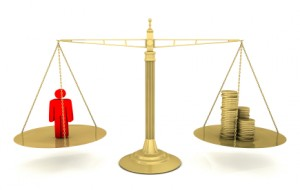Cost benefit scales