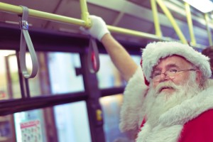 Father Christmas Bus
