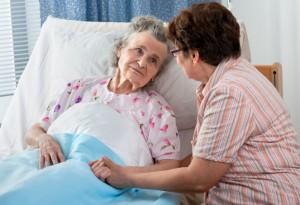Old lady hospital
