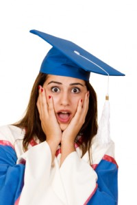 Surprised Graduate