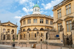 Sheldonian Theatre. Oxford, England