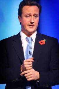 David Cameron Speaks To Conservative Woman's Organisation