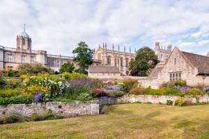 The War Memorial Garden at Christ Church College in Oxford