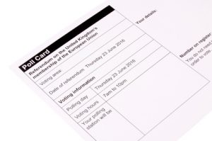European Union Referendum Polling Card